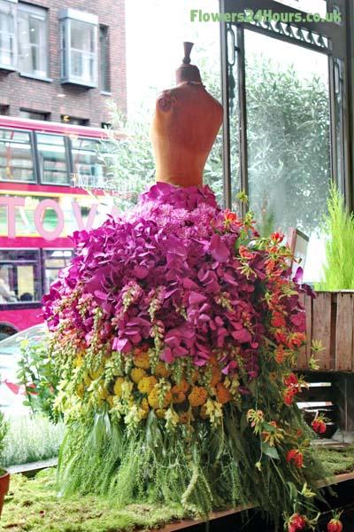 London Florist Flowers 24 Hours UK - London Fashion Week 2013
