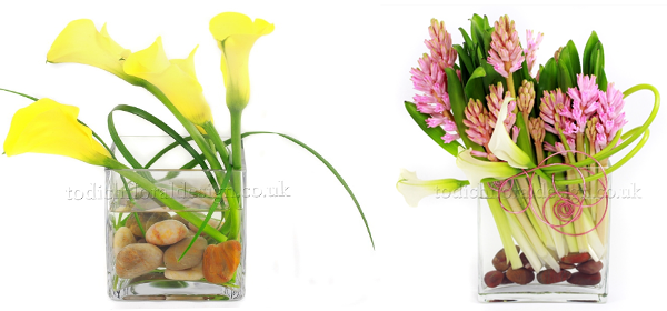 office flowers and office flower arrangement designs
