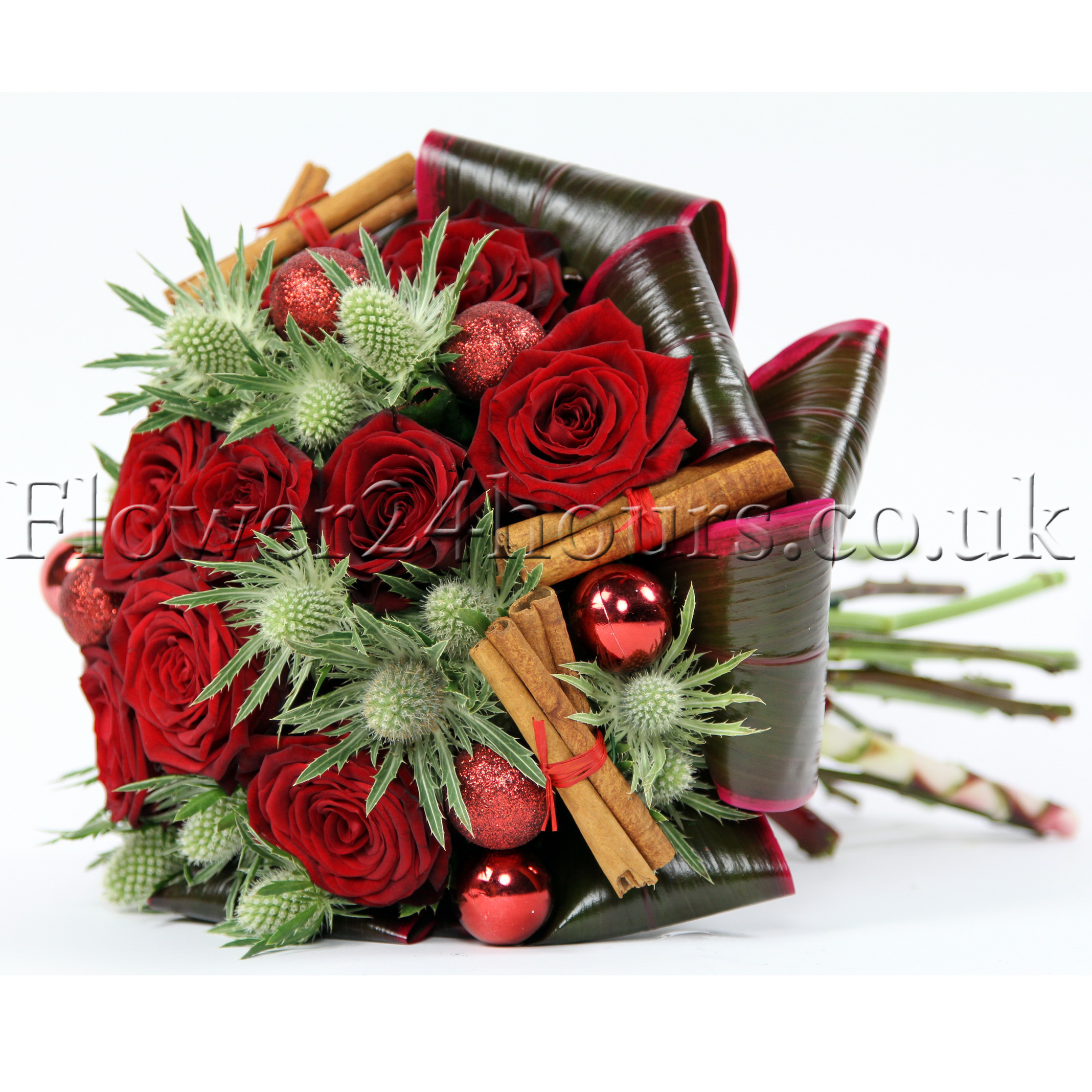 red-roses flower bouquet-london flowers delivered by luxury london florist