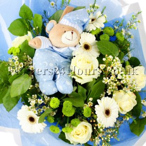 Lullaby Baby Boy Bouquet_resize
