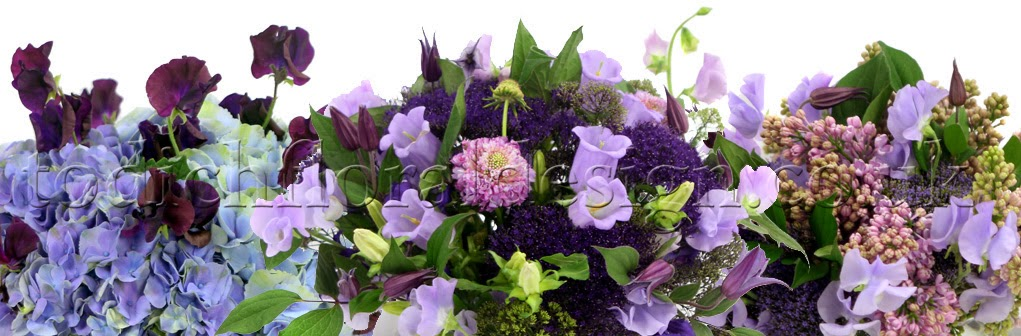 Sweet pea gifts by Flowers24Hours flower shop. Scented sweet peas arranged into a glass fishbowl vase.