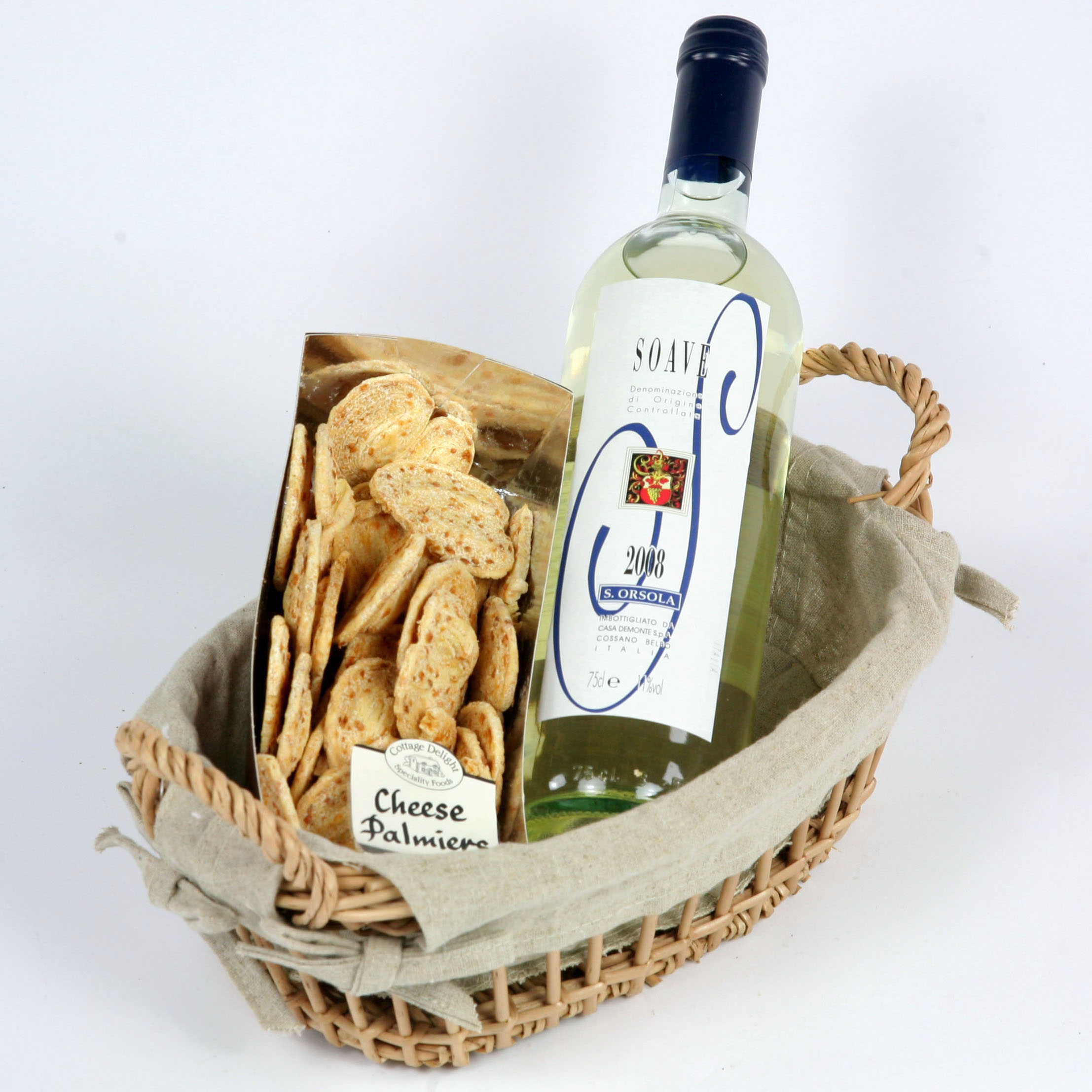 Biscuits With Wine by London UK florist and same day flowers delivery shop. Flowers delivery UK and UK gifts delivery
