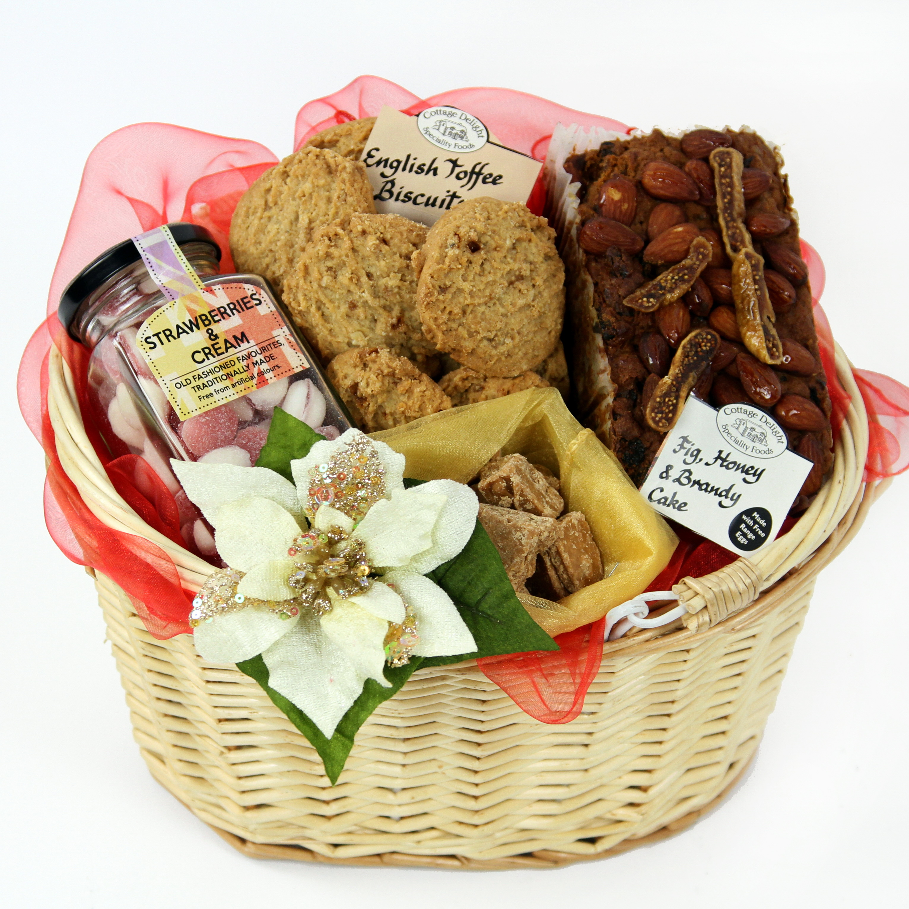 Sweet Basket - gourmet gift baskets delivery. UK gifts online. Same day flowers delivery UK and same day flowers delivery London UK.