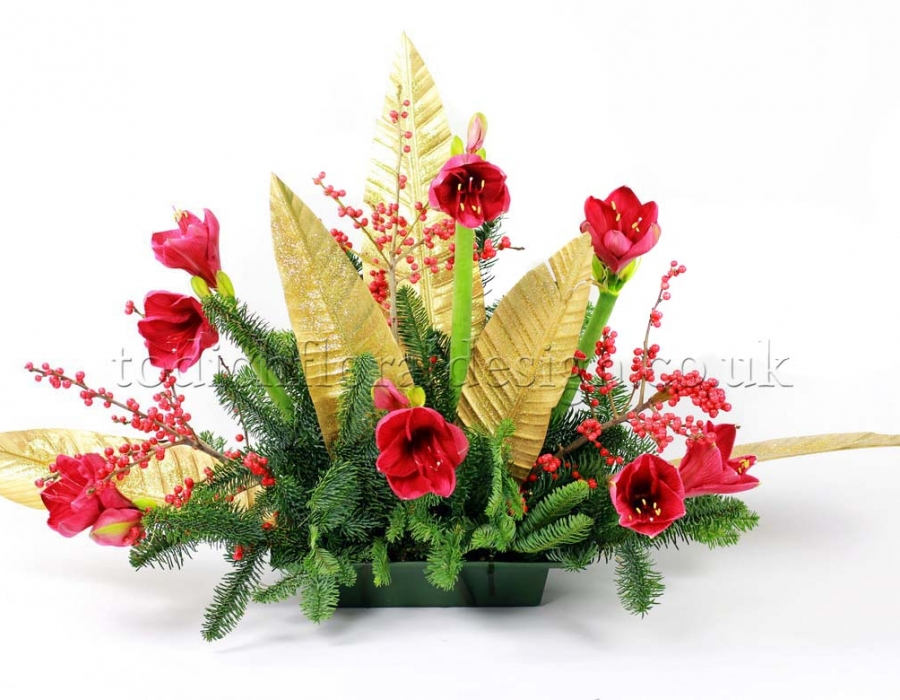 christmas-arrangements-same-day-london-delivery