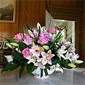 Simply Beautiful - lilies and roses