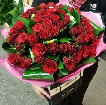 51 Red Roses delivery London