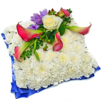 Funeral Flower Cushion