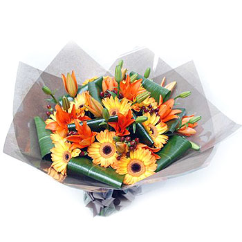 oranje-gerberas-and-lilies-flower-delivery-uk