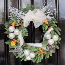 Cinnamon & Oranges - Wreath