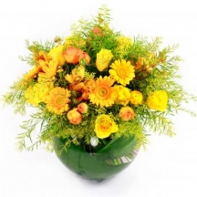 Yellow flowers delivery yellow flowers bouquets london uk send sunset mightylinksfo