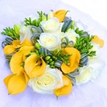 Moonlight - Calla, Roses & Freesia
