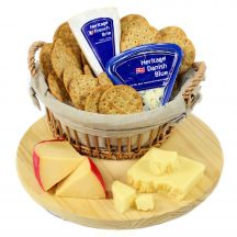 Four Cheese & Crackers Basket