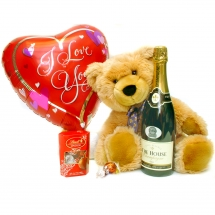 Teddy, Lindt, Champagne Gift