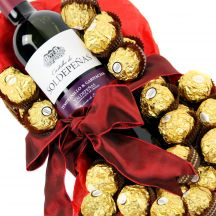Wine & Ferrero Rocher