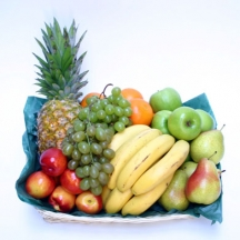 Brimming Fruit Basket