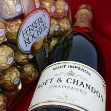 Moet & Chandon and Ferrero Rocher