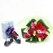 Allstars - lilies,gerberas and roses