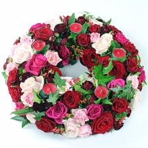 Roses for Remembrance Wreath
