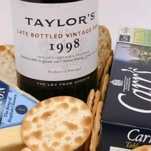Port, Stilton and Biscuits