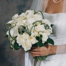 It Must Be Love - White Roses & Calla