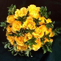 Mellow Yellow Roses