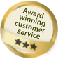 Award Winning Customer Service